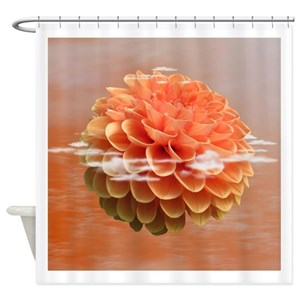 Coral Shower Curtains