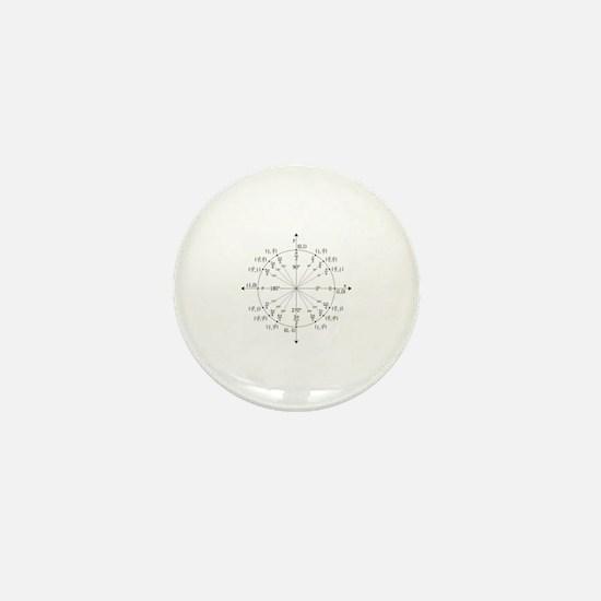 Unit Circle Mini Button