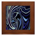 Native American Blue Moon Framed Tile