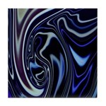 Native American Blue Moon Tile Coaster