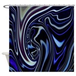 Native American Blue Moon Shower Curtain
