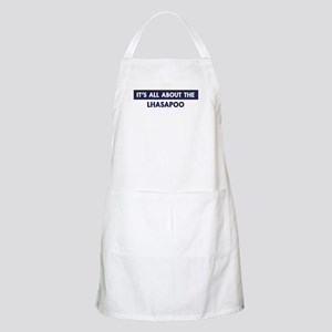 About LHASAPOO BBQ Apron