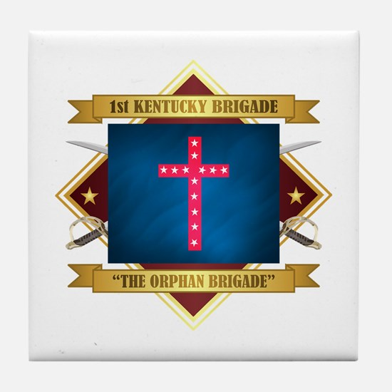 The Orphan Brigade Tile Coaster