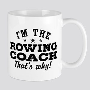 Funny Rowing Coach Mug