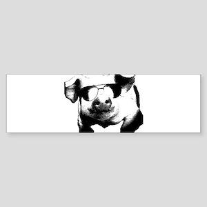 The Shady Pig Bumper Sticker