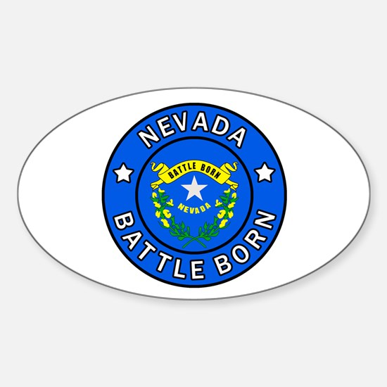 Nevada Sticker (Oval)