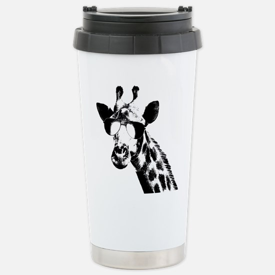 The Shady Giraffe Stainless Steel Travel Mug