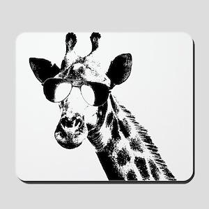The Shady Giraffe Mousepad