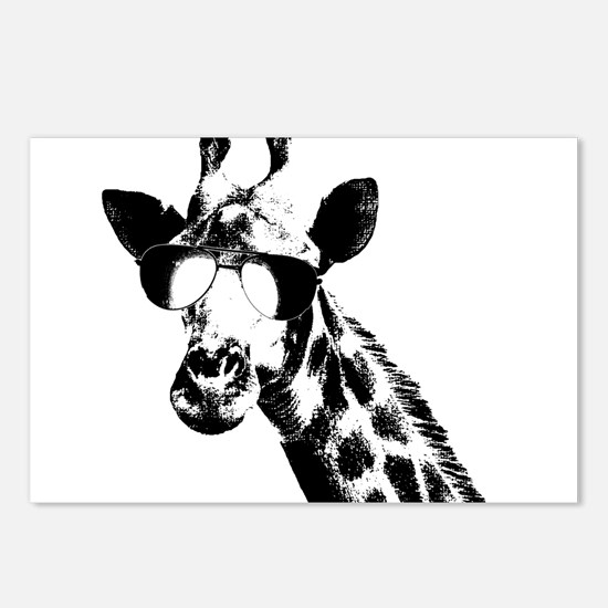 The Shady Giraffe Postcards (Package of 8)