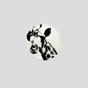 The Shady Giraffe Mini Button