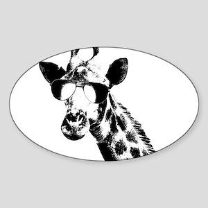 The Shady Giraffe Sticker