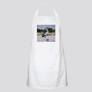 Pelican Standing on Watch Apron