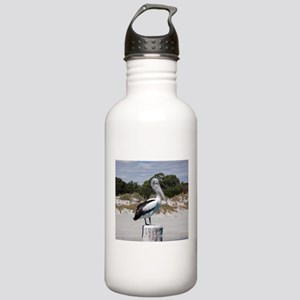 Pelican Standing on Wa Stainless Water Bottle 1.0L