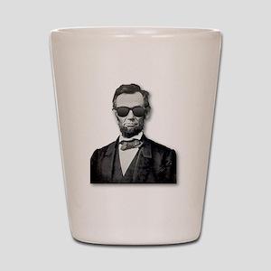 Shady Abe Shot Glass