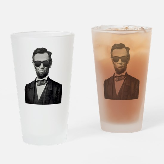 Funny Abraham Drinking Glass