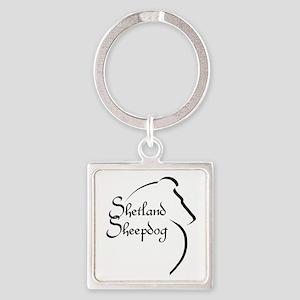 Sheltie Style Keychains