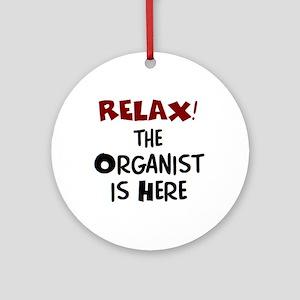 organist here Ornament (Round)