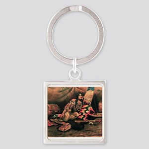 native americans Keychains