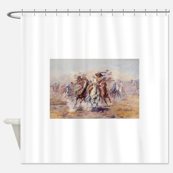 native americans Shower Curtain