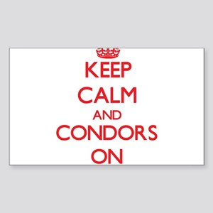 Keep Calm and Condors ON Sticker