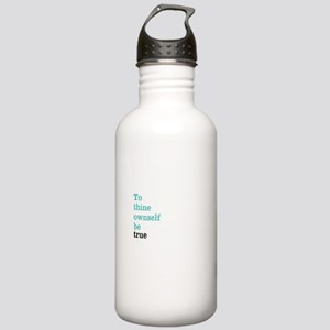 To thine ownself Water Bottle
