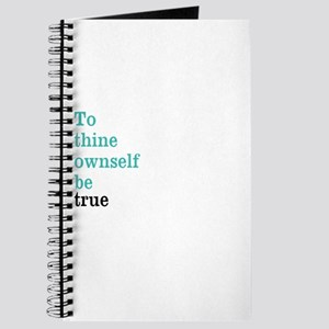 To thine ownself Journal