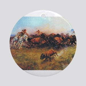 native americans Ornament (Round)