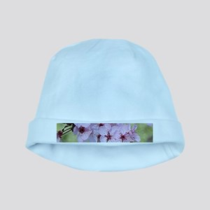 Cherry blossoms in spring time baby hat