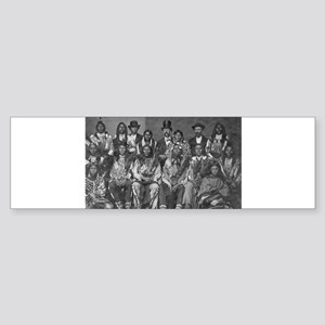 native americans Bumper Sticker