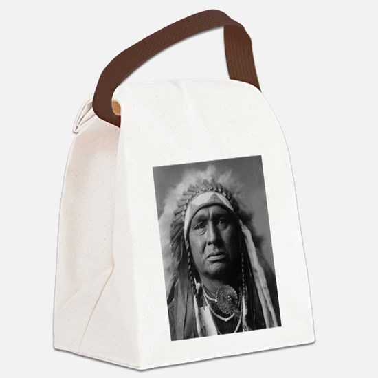 native americans Canvas Lunch Bag