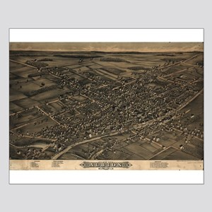 Map of Albion, N.Y., 1880 Small Poster