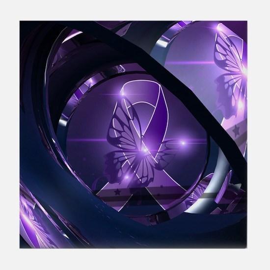 Cute Lupus Tile Coaster