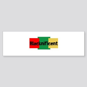 Blacknificent Bumper Sticker