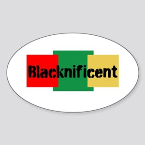 Blacknificent Sticker