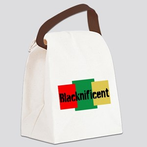 Blacknificent Canvas Lunch Bag