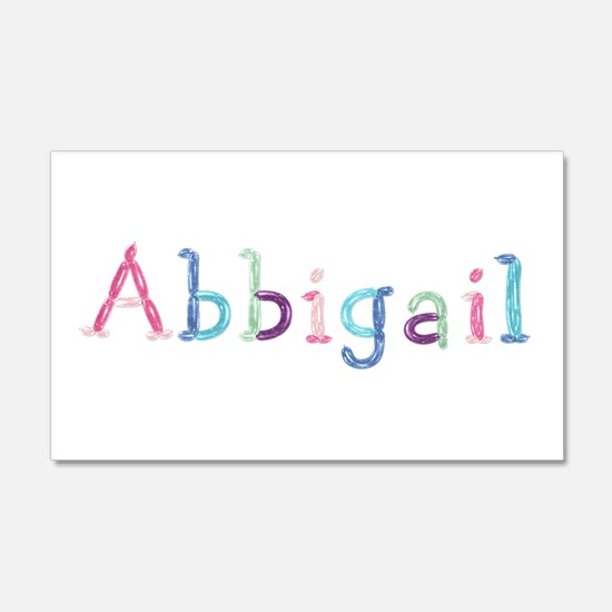 Abbigail Princess Balloons 20x12 Wall Peel