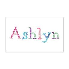 Ashlyn Princess Balloons 20x12 Wall Peel