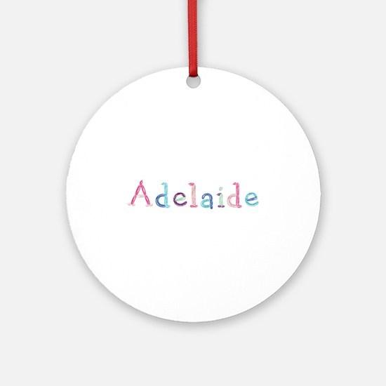 Adelaide Princess Balloons Round Ornament