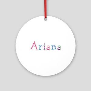 Ariana Princess Balloons Round Ornament
