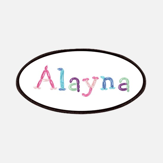 Alayna Princess Balloons Patch