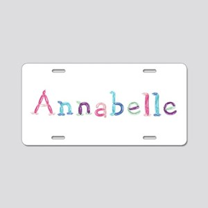 Annabelle Princess Balloons Aluminum License Plate
