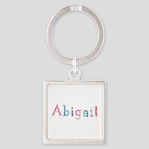 Abigail Princess Balloons Square Keychain