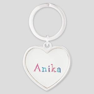 Anika Princess Balloons Heart Keychain