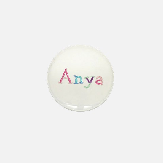 Anya Princess Balloons Mini Button