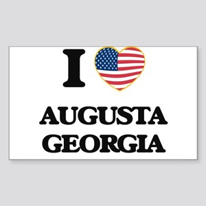 I love Augusta Georgia Sticker