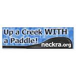 Bumper Sticker - Up a Creek