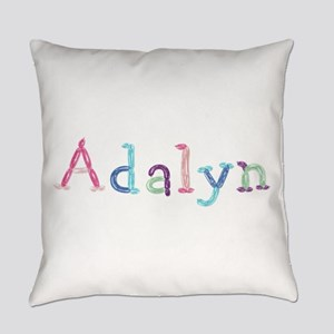 Adalyn Princess Balloons Everyday Pillow