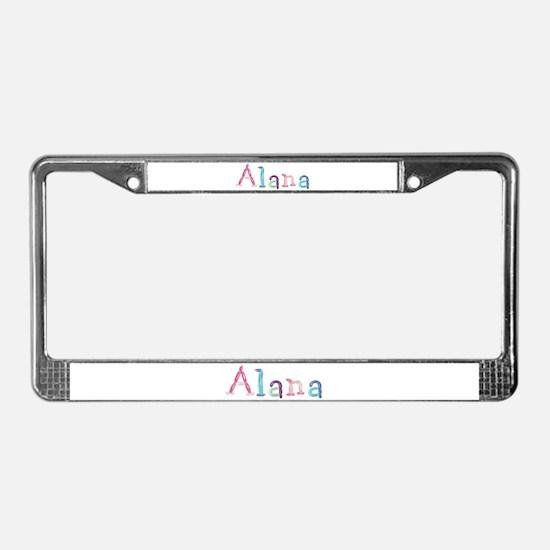 Alana Princess Balloons License Plate Frame