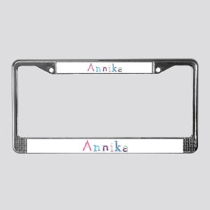 Annika Princess Balloons License Plate Frame