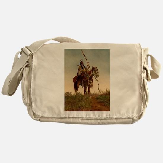 native americans Messenger Bag